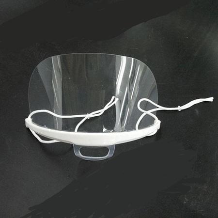 transparent mask Dental doctors Food Hotel plastic kitchen restaurant hotel special mask